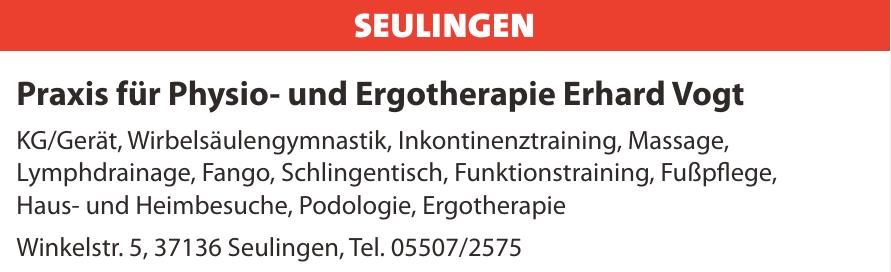 Praxis für Physio- und Ergotherapie Erhard Vogt