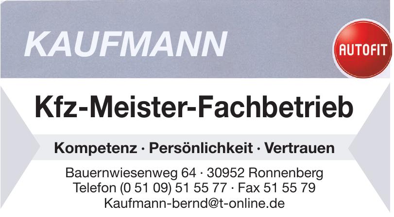 Kaufmann Kfz-Meister-Fachbetrieb