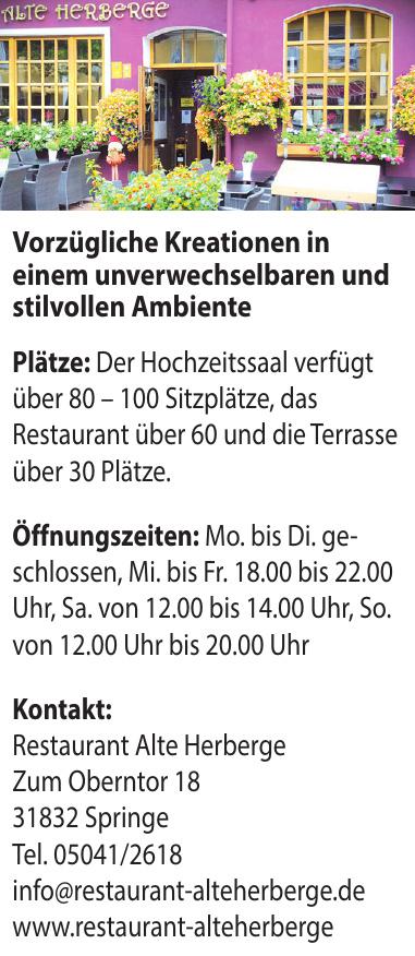 Restaurant Alte Herberge