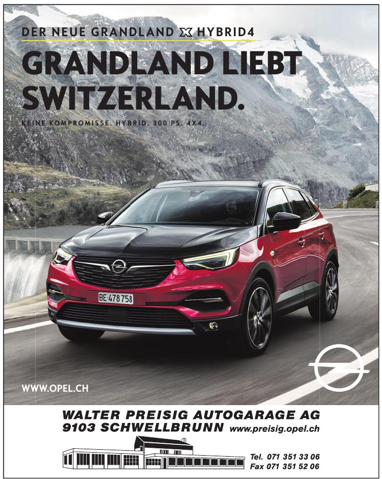 Walter Preisig Autogarage AG