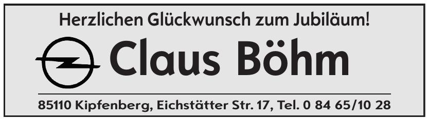 Claus Böhm