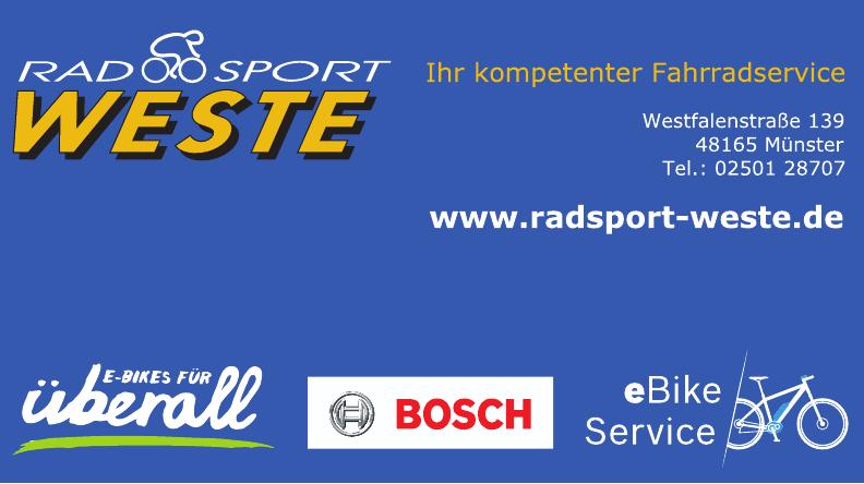 RadSport Weste