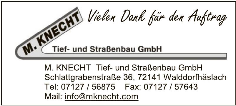 M. Knecht Tief- und Straßenbau GmbH