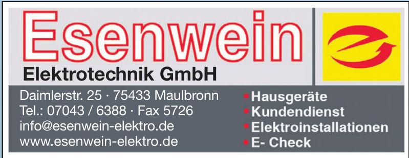 Esenwein Elektrotechnik GmbH