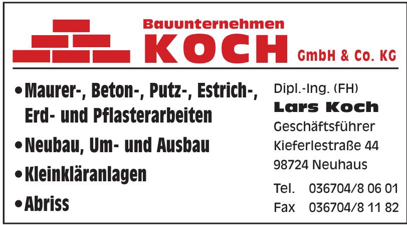 Bauunternehmen Koch GmbH & Co. KG