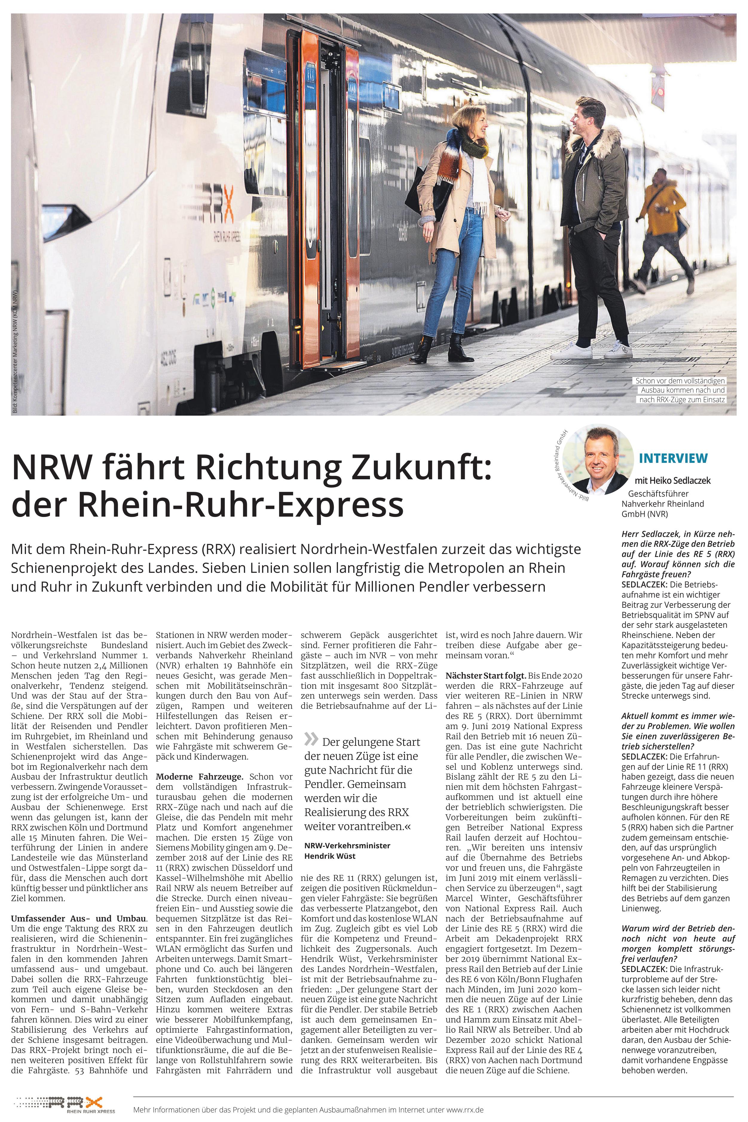 RRX Rhein Ruhr Express