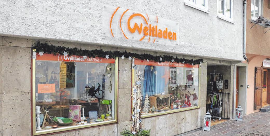 Der Weltladen In Biberach. FOTOS: PRIVAT
