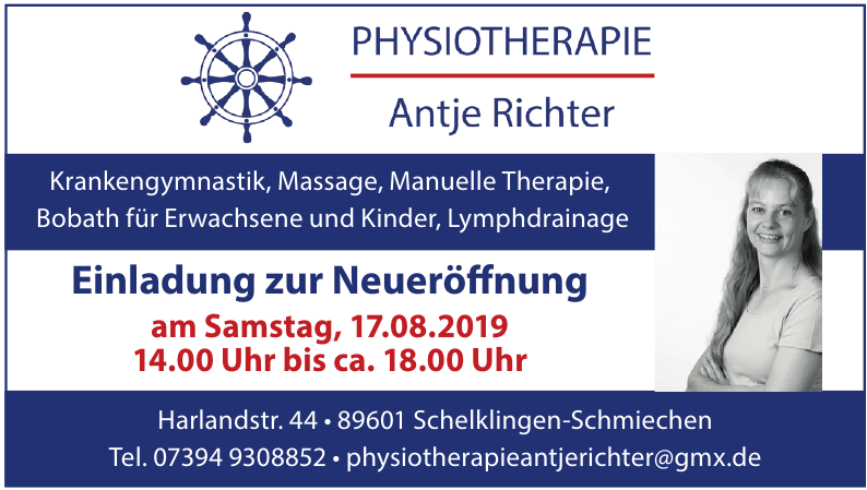 Antje Richter Physiotherapie