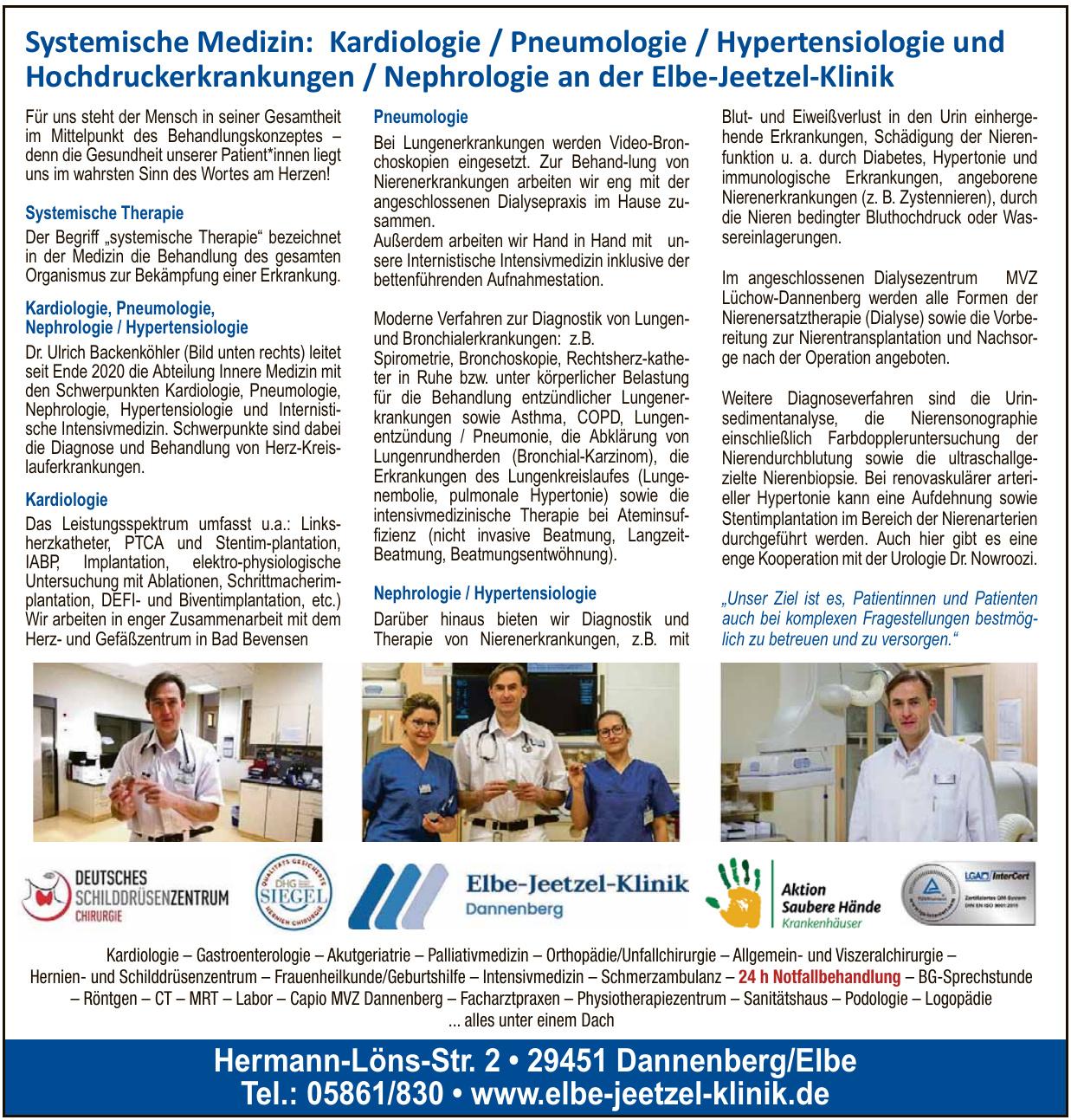 Elbe-Jeetzel-Klinik Dannenberg