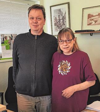 Petra Springer und Heiko Schulze