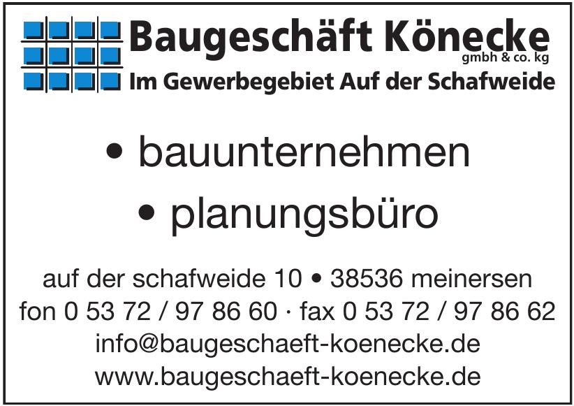 Baugeschäft Könecke GmbH Co. KG