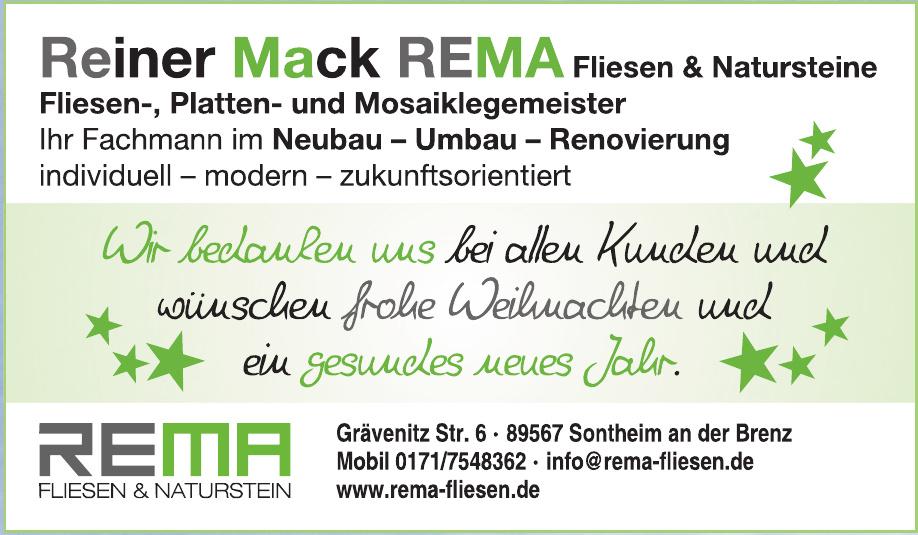 Rema Fliesen und Naturstein