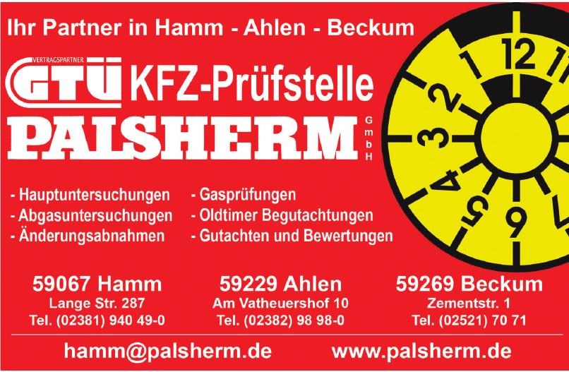 Kfz-Prüfstelle Palsherm GmbH