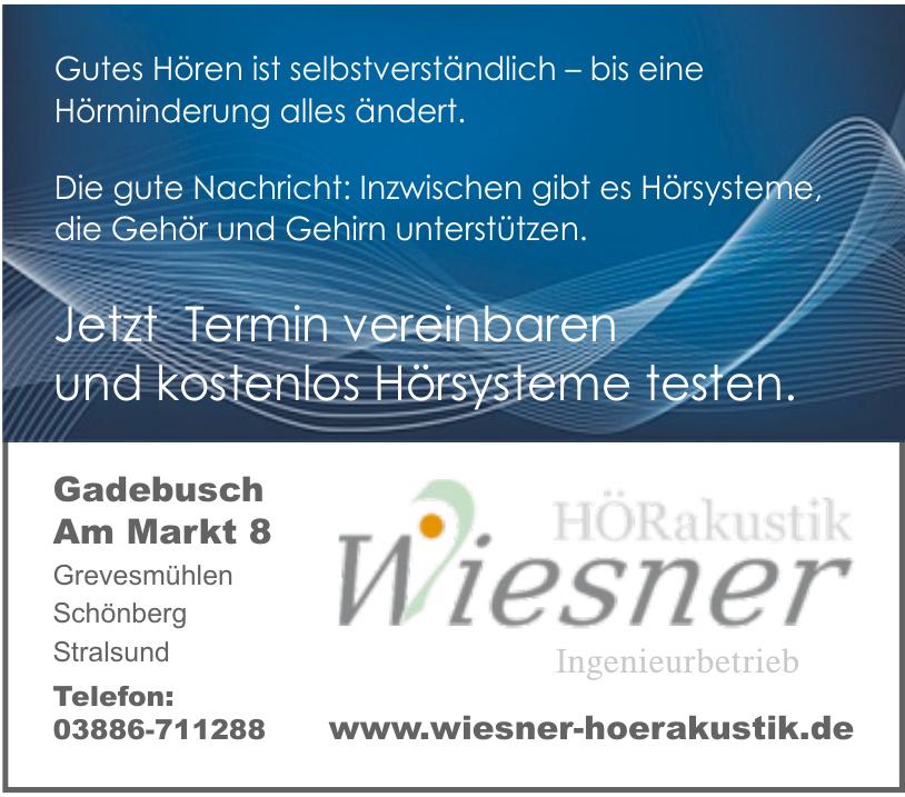 Hörakustik Wiesner
