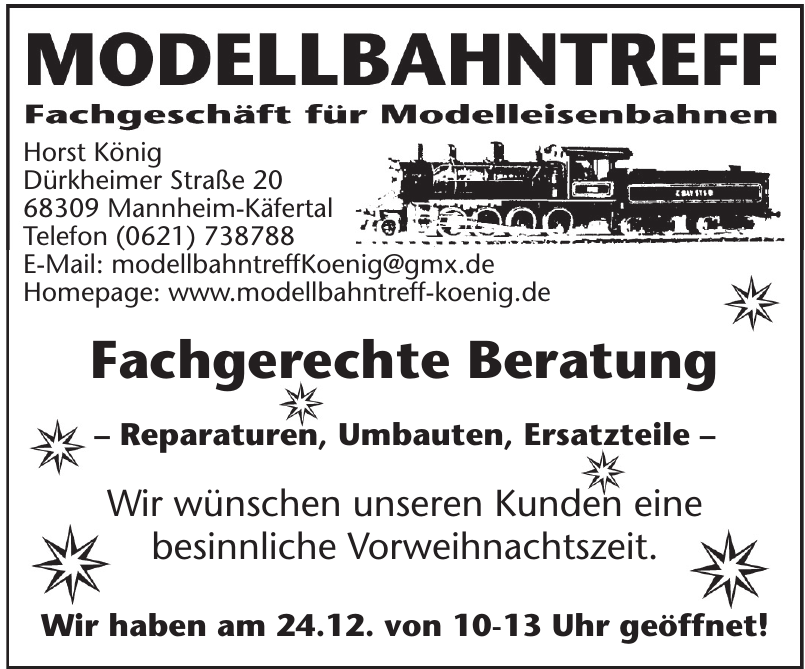 Modellbahntreff Horst König