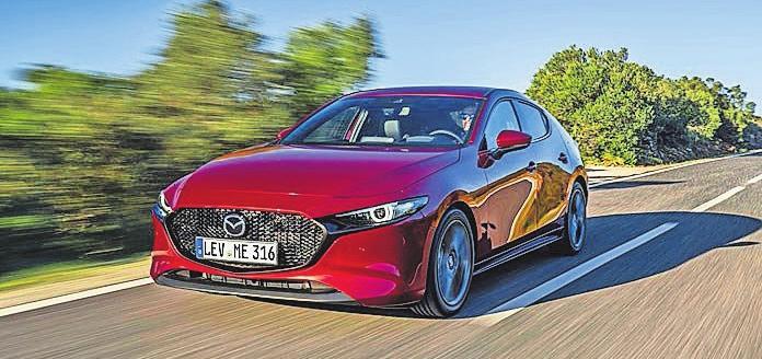Im neuen Mazda3 stecken die jüngsten Fortschritte des japanischen Herstellers. Foto: Mazda