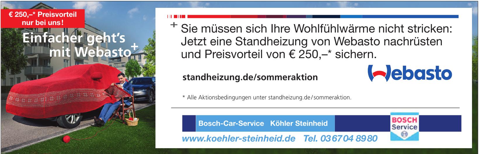 Bosch-Car-Service Köhler Steinheid