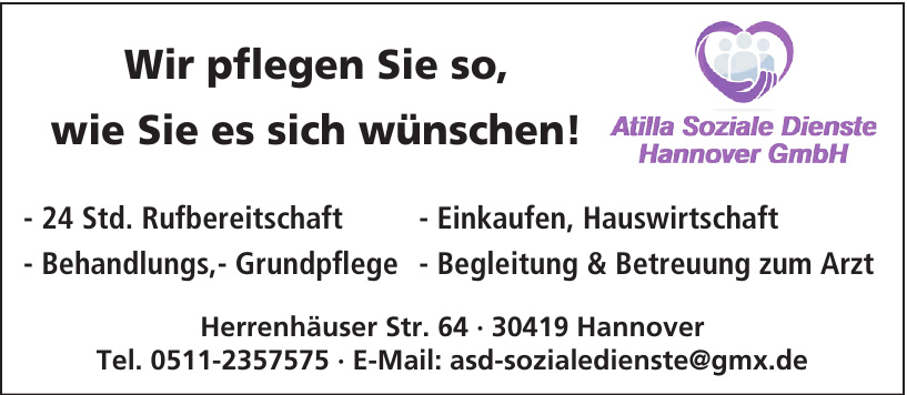Attilla Soziale Dienste Hannover GmbH