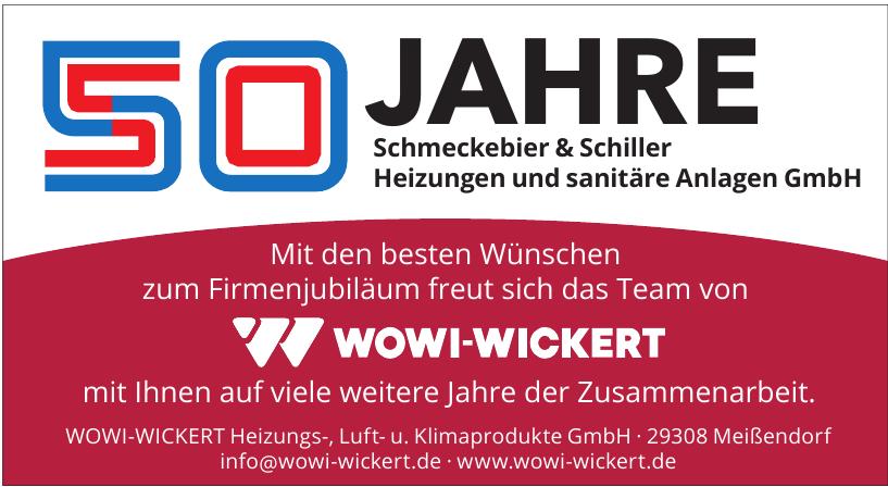 WOWI-WICKERT Heizungs-, Luft- u. Klimaprodukte GmbH