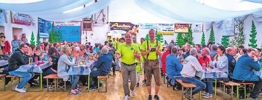 Auch 2019 wird die Kirmes in Steinheid traditionell eröffnet.