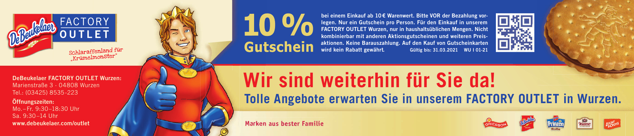 DeBeukelaer Factory Outlet