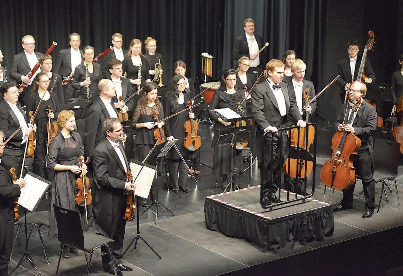 Das Orchester Camerata Europeana spielt am Samstag, 27. Juli, auf dem Marktplatz. Bild: Kulturverein