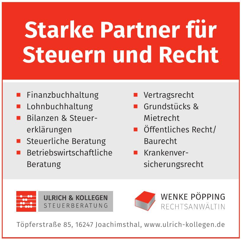 Wenke Pöpping Rechtsanwaltin