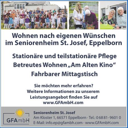 GFAmbH Seniorenheim St. Josef