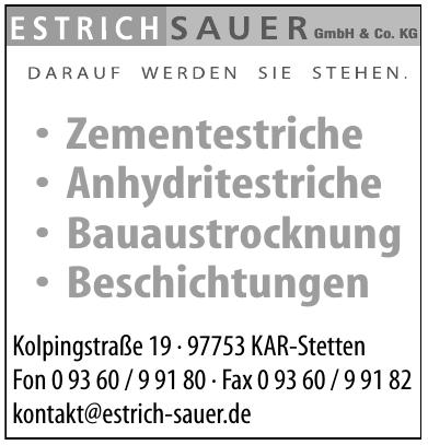 Estrich Sauer GmbH & Co. KG