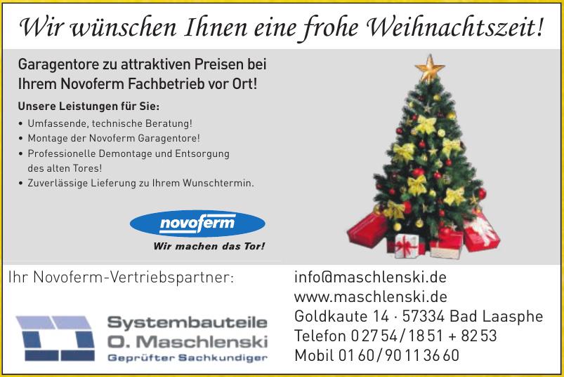 Systembauteile O. Maschlenski