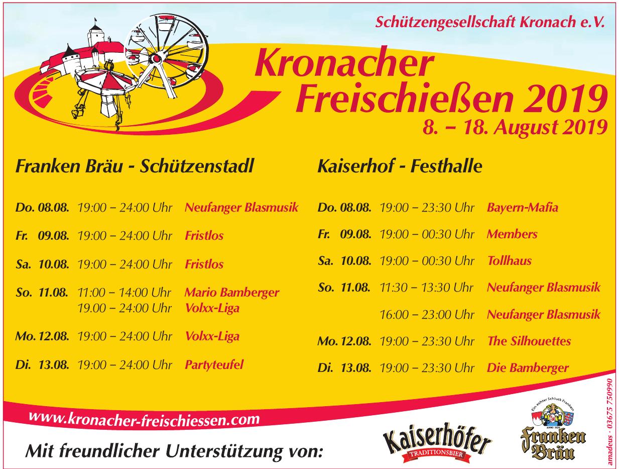 Schützengesellschaft Kronach e.V.