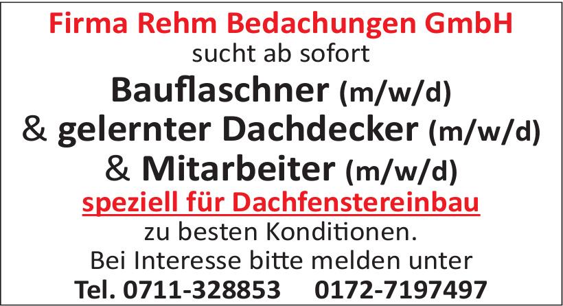 Firma Rehm Bedachungen GmbH