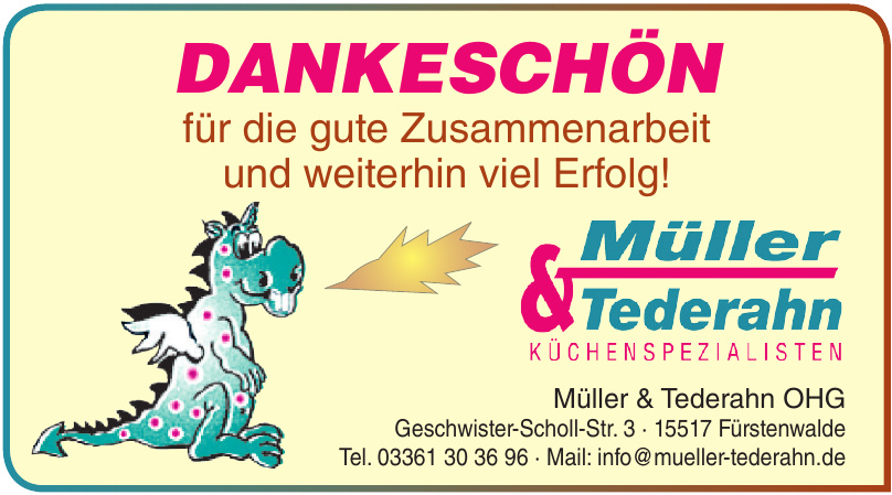 Küchenspezialisten Müller & Tederahn OHG