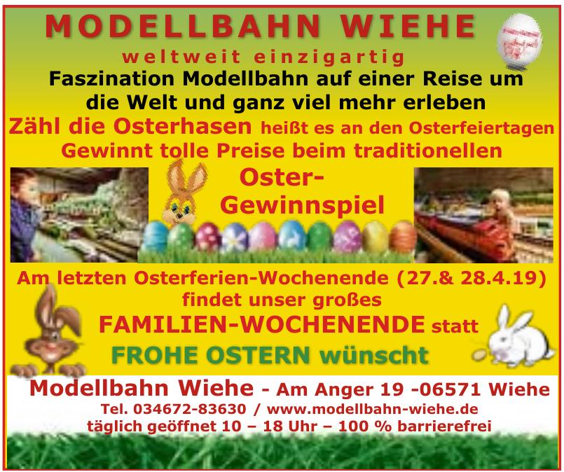 Modellbahn Wiehe
