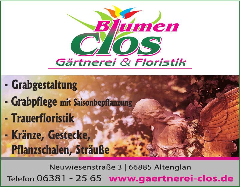 Blumen Clos Gärtnerei & Floristik