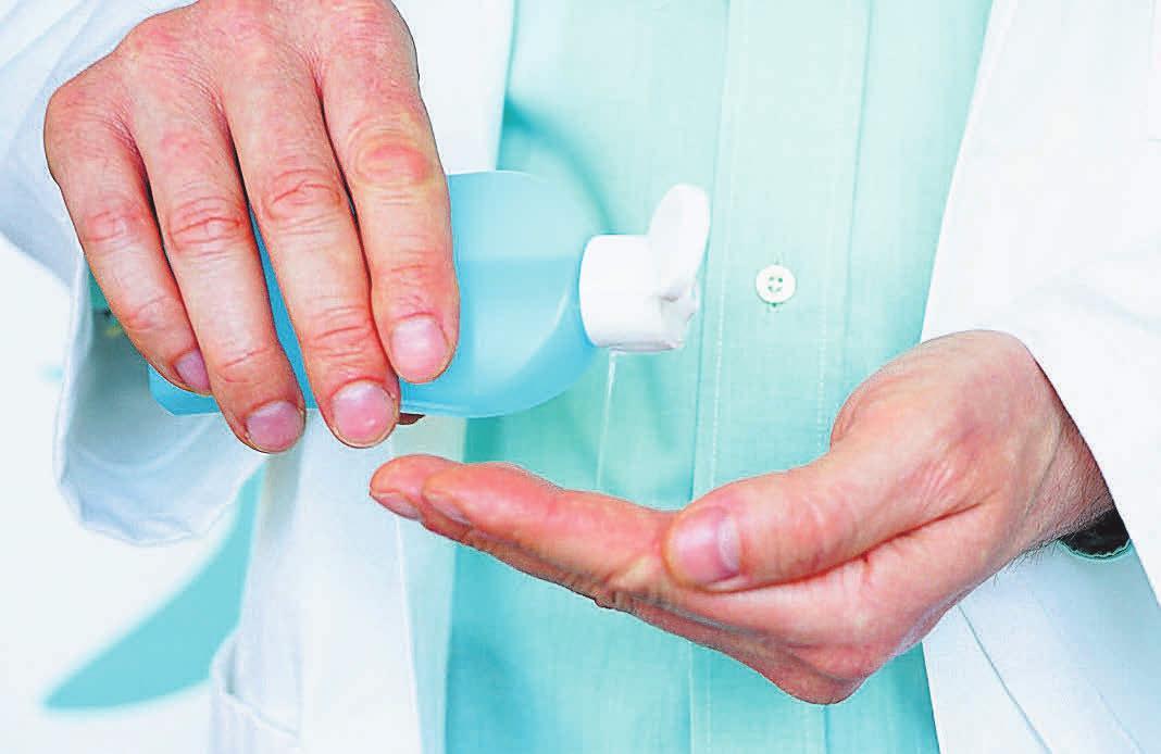 Hygiene und Desinfektion sind selbstverständlich – und in Corona-Zeiten besonders wichtig.