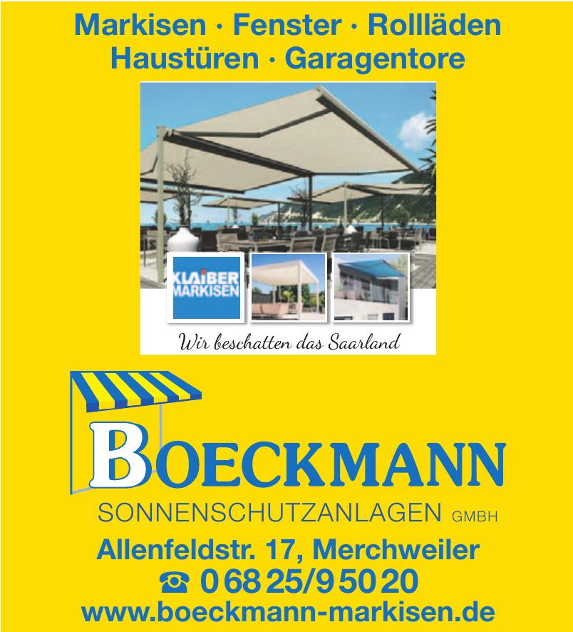 Boeckmann Sonneschutzanlagen GmbH