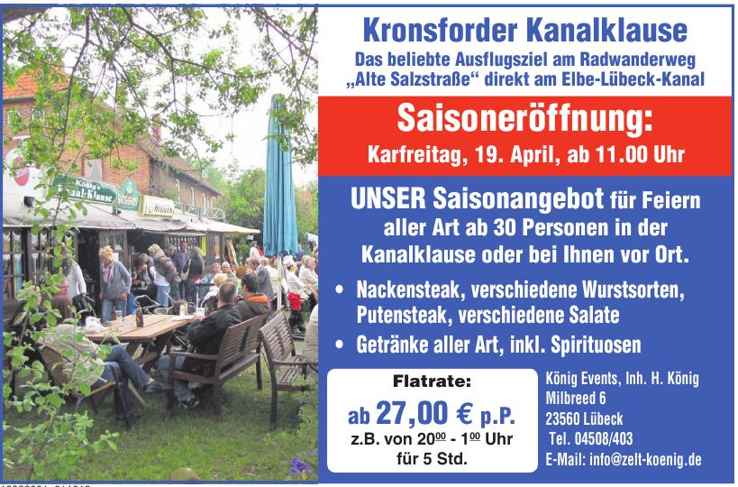 König Events, Inh. H. König