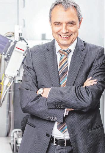 Prof. Dr. Gerhard Schneider FOTO: HS AALEN/THOMAS KLINK