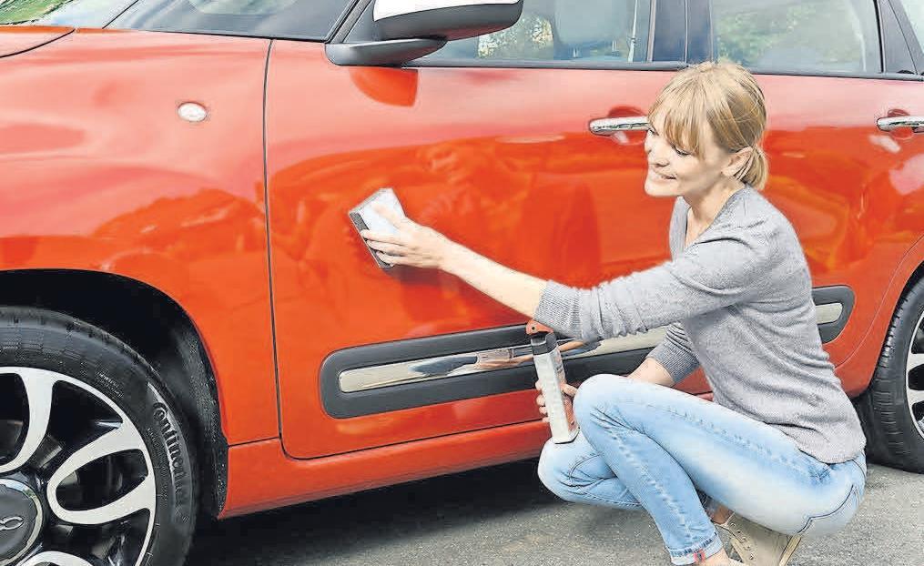 Lackschäden übernimmt nur die Vollkaskoversicherung. Foto: Nigrin/dpp