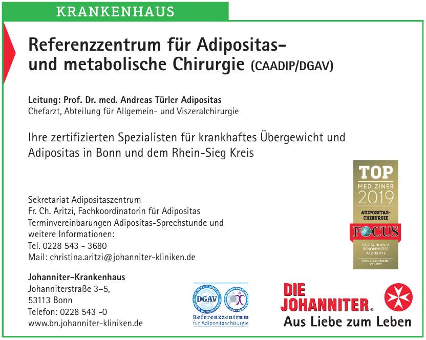 Referenzzentrum für Adipositas- und metabolische Chirurgie