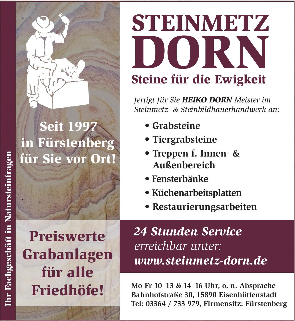 Steinmetz Dorn