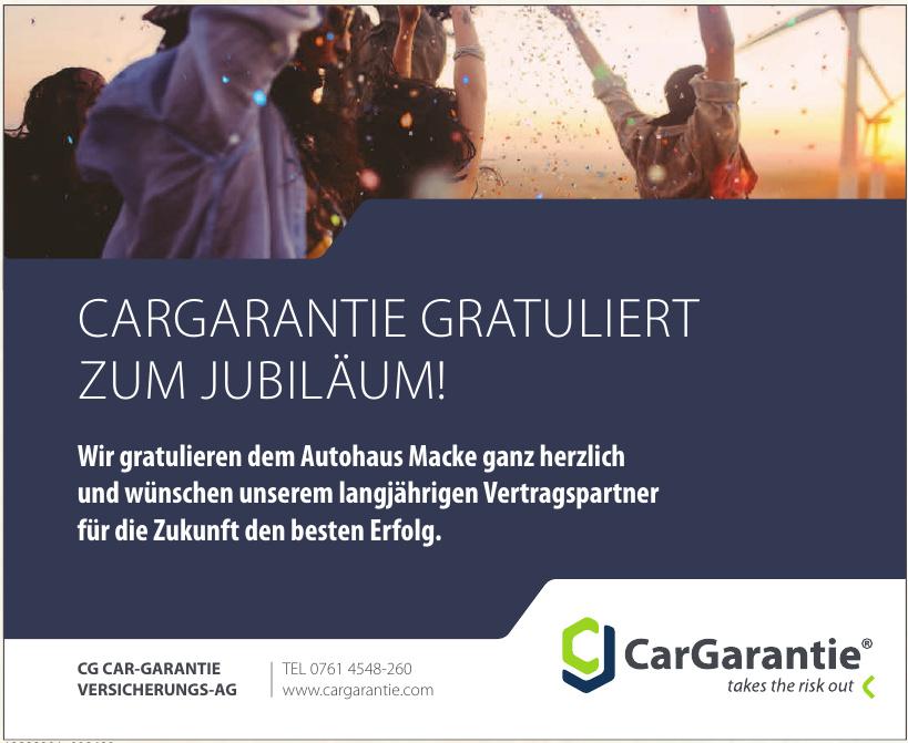 CG Car-Garantie Versicherungs-Ag