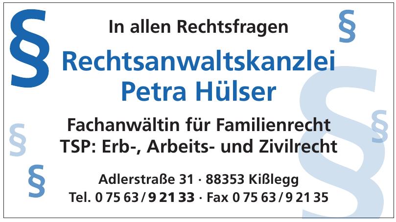 Rechtsanwaltskanzlei Petra Hülser