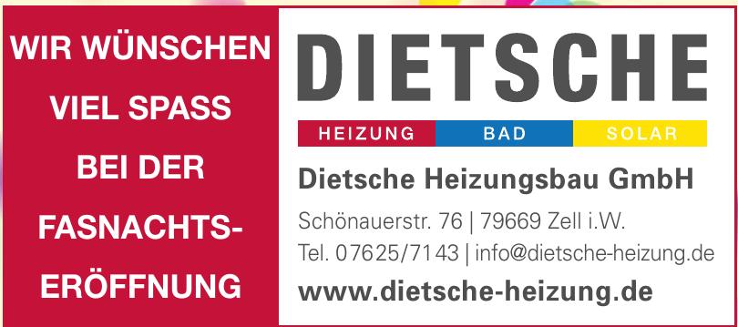 Dietsche Heizungsbau GmbH