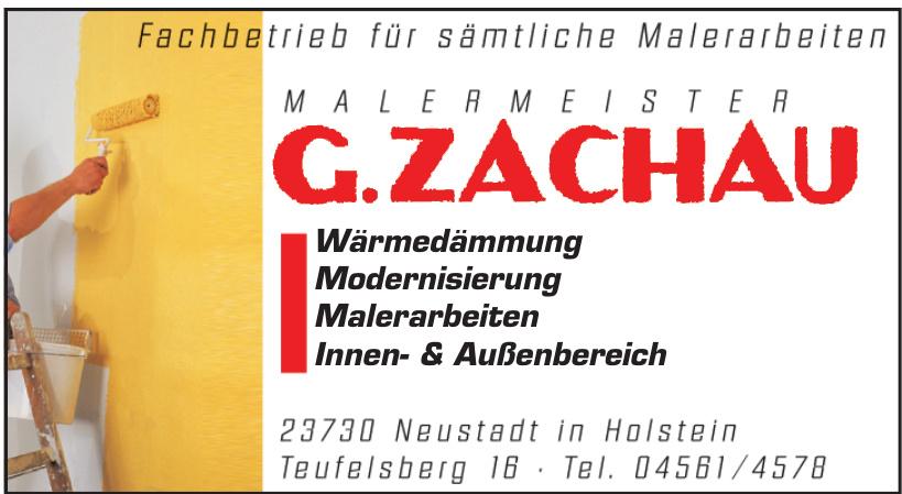 Malermeister Günter Zachau