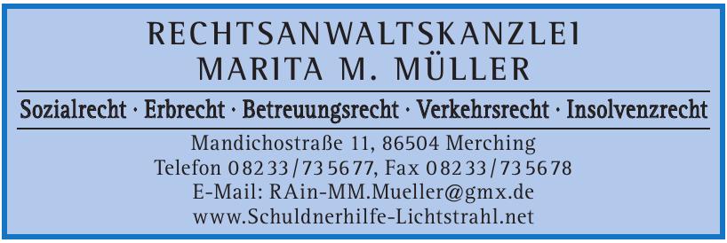 Rechtsanwaltskanzlei Marita M. Müller