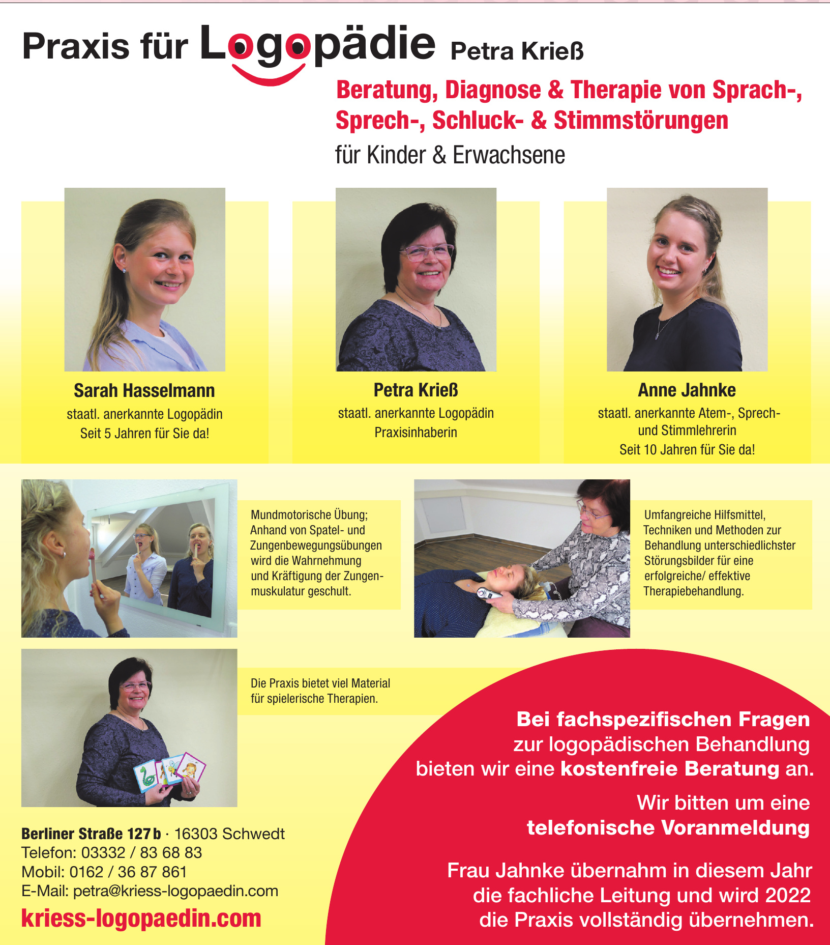 Praxis für Logopädie Petra Krieß