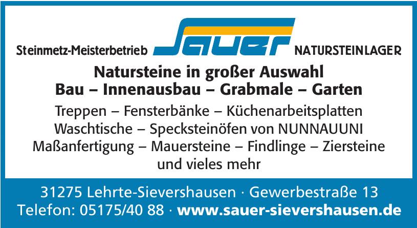 Steinmetz-Meisterbetrieb Sauer