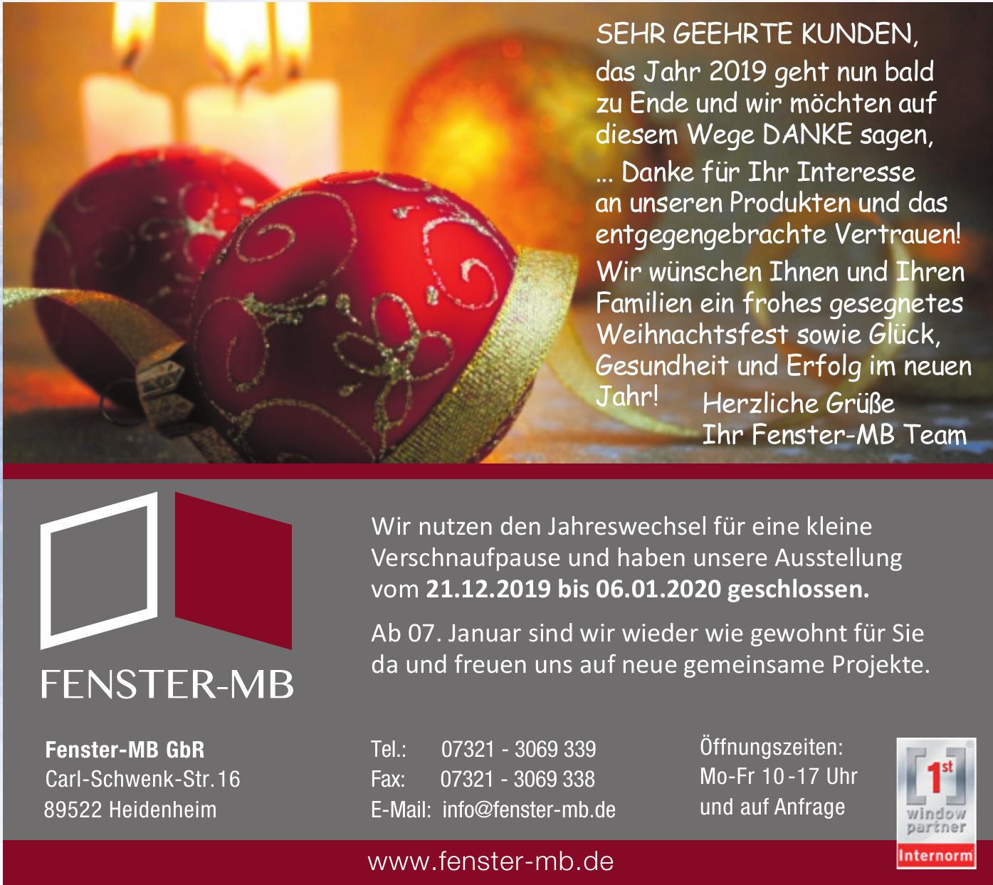 Fenster-MB GbR